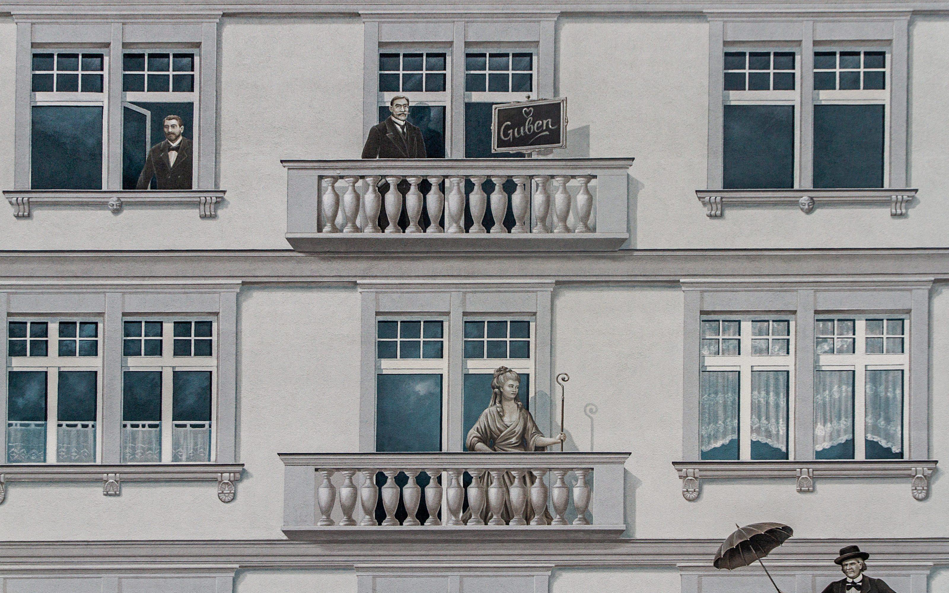 GRACO-Guben-Fassadenmalerei-Illusionsmalerei-Projekt