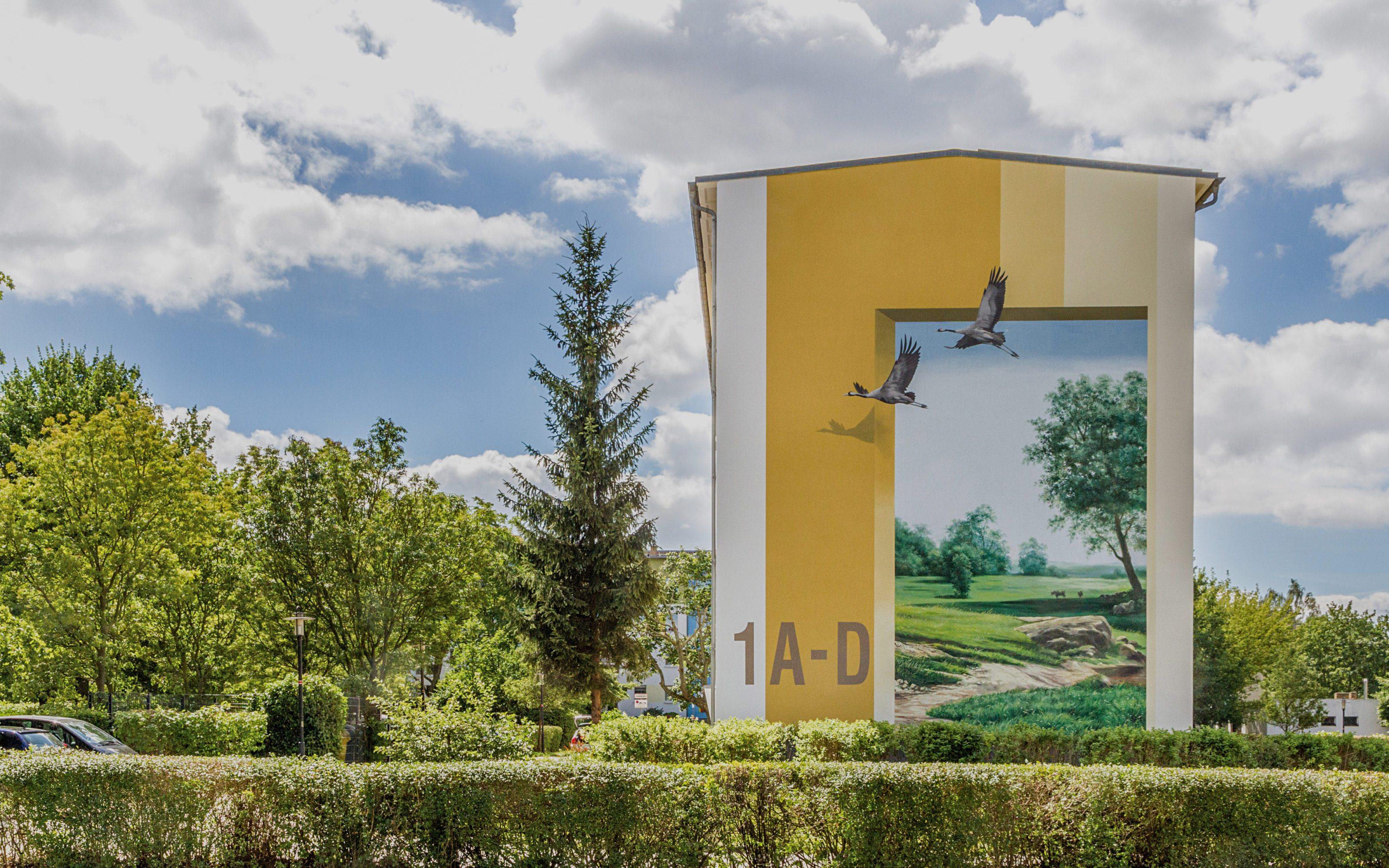 GRACO-Ketzin-Fassadenmalerei-Projekt