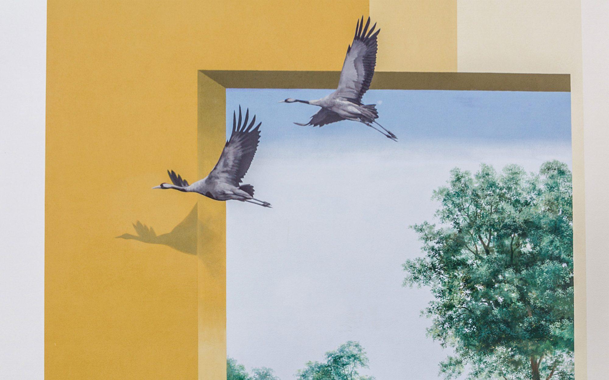 GRACO-Ketzin-Wandmalerei-Voegel-Himmel-Giebel
