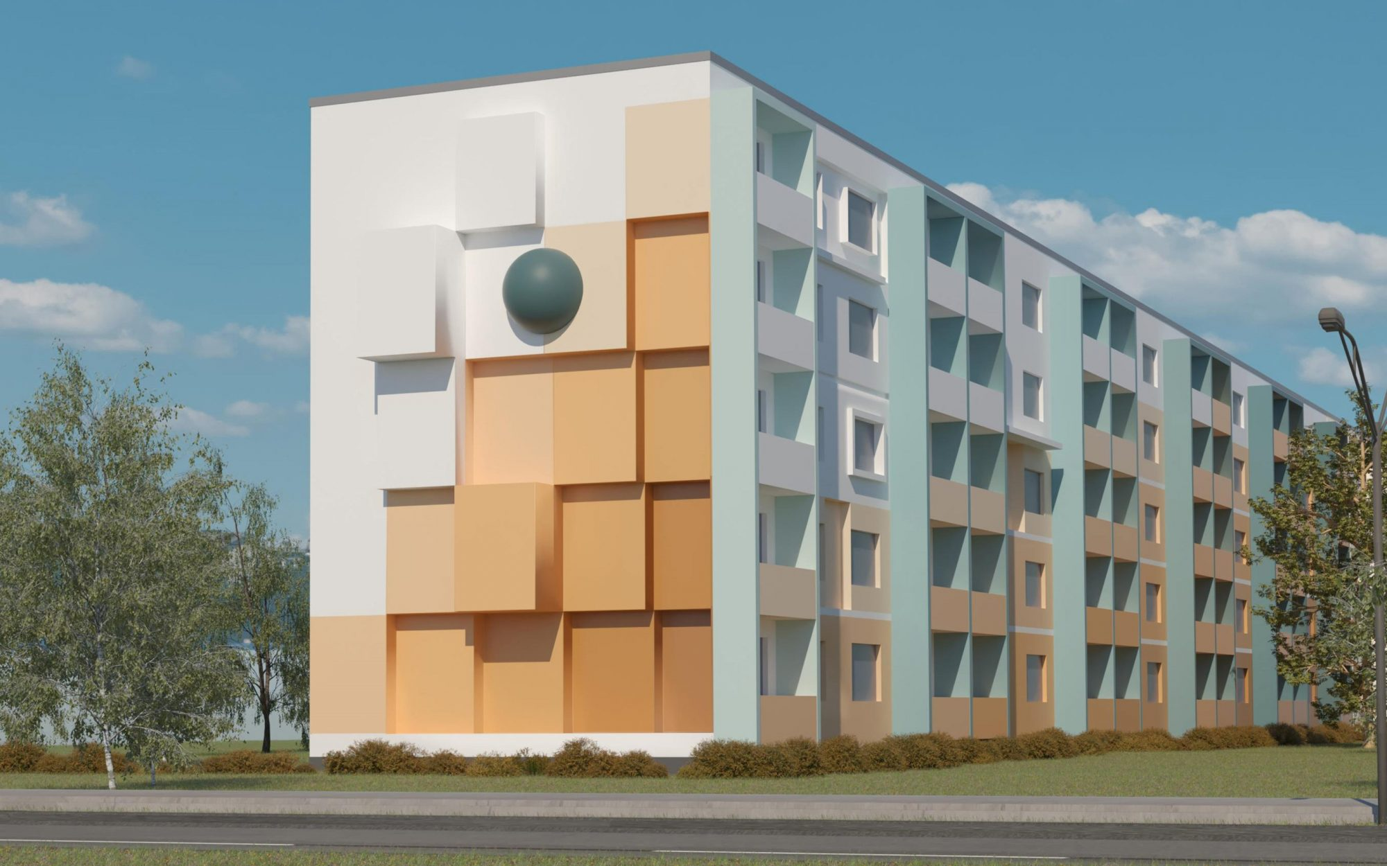 GRACO-Neuruppin-Rendering-Fassadengestaltung-Entwurf-Design