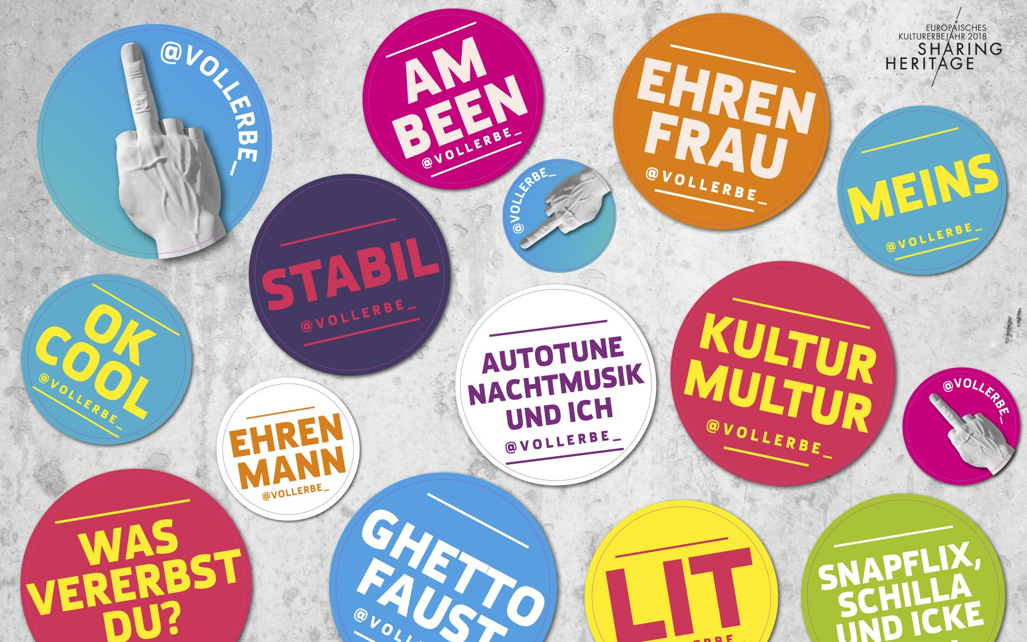 GRACO-Sharing-Heritage-Aufkleberbogen-Claims