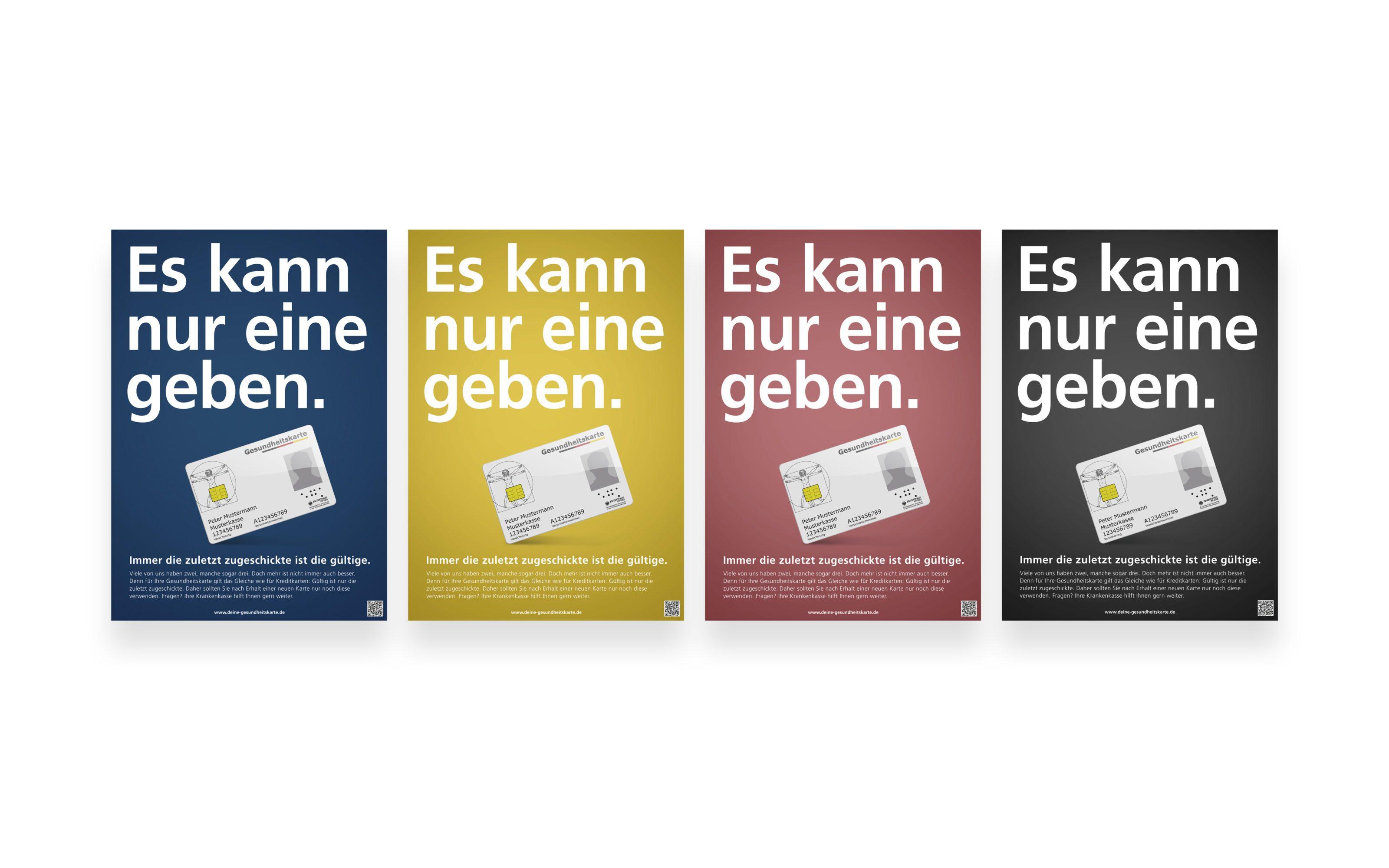 gematik-GRACO-Awareness Kampagne-Plakate